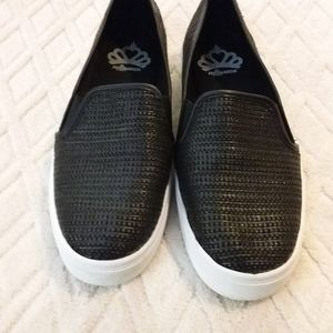 Fergalicious woven-look slip-on sneaker-EUC